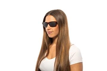 Rasterbrille 415-FMG - ganzflächiges Raster - braun marmoriert - 2