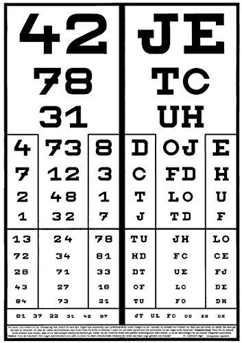 Rasterbrille 415-FSP - quadratischer Raster - schwarz - 2