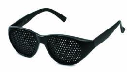 Rasterbrille 415-JGG ganzflächiger Raster, schwarz - 1