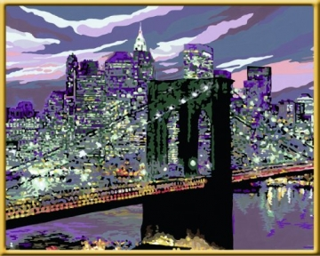 Malen Nach Zahlen New York Skyline 10040 Cm