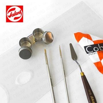 Royal Talens–Cobra Artist Wasser mischbare Ölfarben Art Set in Premium schwarz Geschenk-Box–mit Farben, Palette, und Pinsel - 3