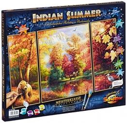Schipper 609260650 - Malen nach Zahlen - Indian Summer (Triptychon), 50x80 cm -