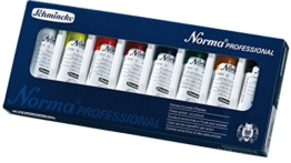 Schmincke Künstlerfarben, Norma® Professional Ölfarbe, Kartonset mit 8 x 35ml Tuben - 1