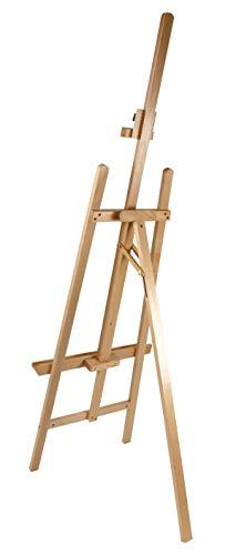 Staffelei COMO aus Buchenholz FSC®, Keilrahmen bis 130cm, Höhe bis 230 cm, Qualität vom Fachhändler - 3