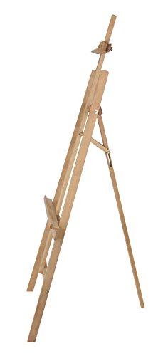 Staffelei MALTA aus Buchenholz FSC, Keilrahmen bis 110 cm Höhe, Mal- und Präsentationsstaffelei vom Künstler-Fachhandel - 5