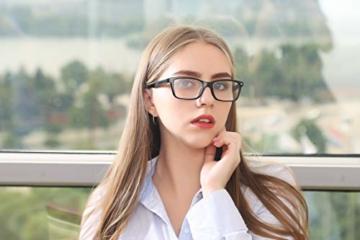 Suertree Feder Scharnier (3 Pack) Lesebrillen Sehhilfe Augenoptik Brille Lesehilfe für Damen Herren von 1.5X BM151 - 5