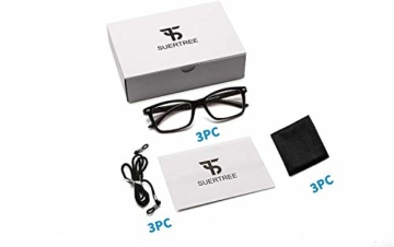 Suertree Feder Scharnier (3 Pack) Lesebrillen Sehhilfe Augenoptik Brille Lesehilfe für Damen Herren von 1.5X BM151 - 7
