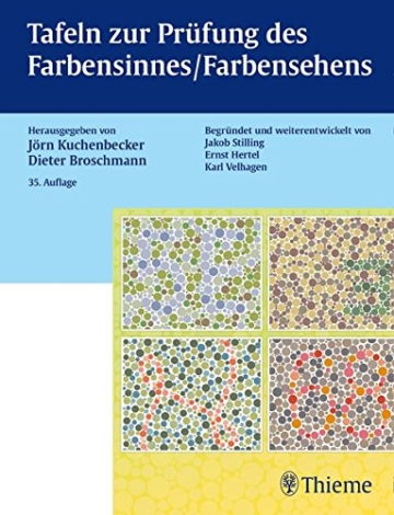 Tafeln zur Prüfung des Farbensinnes / Farbensehens - 1