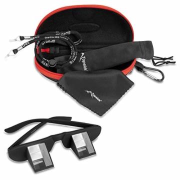 TOPSIDE Sicherungsbrille (Kletterbrille) mit hochwertigen Prismen inkl. Etui und Brillenband - 2