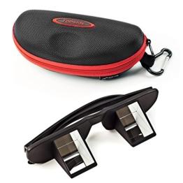 TOPSIDE Sicherungsbrille (Kletterbrille) mit hochwertigen Prismen inkl. Etui und Brillenband - 1