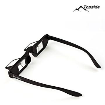 TOPSIDE Sicherungsbrille (Kletterbrille) mit hochwertigen Prismen inkl. Etui und Brillenband - 4