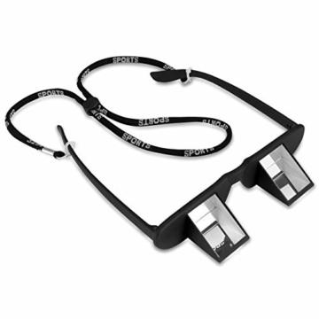 TOPSIDE Sicherungsbrille (Kletterbrille) mit hochwertigen Prismen inkl. Etui und Brillenband - 5