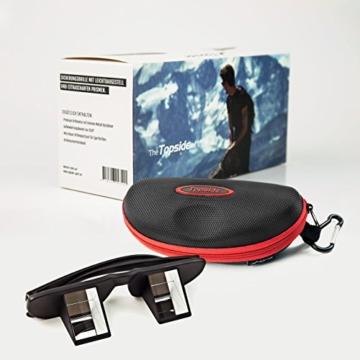 TOPSIDE Sicherungsbrille (Kletterbrille) mit hochwertigen Prismen inkl. Etui und Brillenband - 7