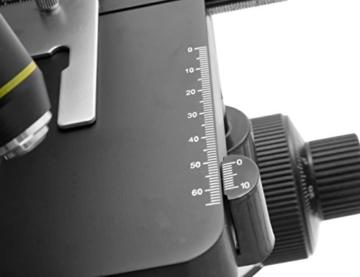 TS-Optics TSMSCM100T Binokular Trinokular Durchlicht Mikroskop für Labor bis max. 1000-fache Vergrößerung, Objektiv mit 4 Achromaten dimmbare LED - 6