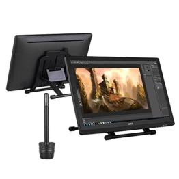 Ugee 2150 21.5 Zoll 1080P HD Grafikmonitor ,Grafiktablett, Grafik Zeichnung Tablette, IPS Bildschirm, Einstellbar Monitor Anzeigen Stand, W / 2 x Intelligenter Stift, 5080LPI Auflösung - 1