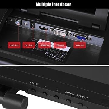 Ugee 2150 21.5 Zoll 1080P HD Grafikmonitor ,Grafiktablett, Grafik Zeichnung Tablette, IPS Bildschirm, Einstellbar Monitor Anzeigen Stand, W / 2 x Intelligenter Stift, 5080LPI Auflösung - 8