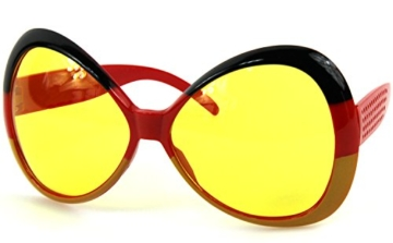 Ultra coole Deutschland Brille Sonnenbrille Fanbrille - 2