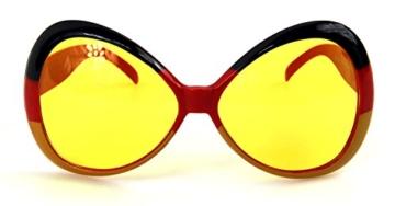 Ultra coole Deutschland Brille Sonnenbrille Fanbrille - 3