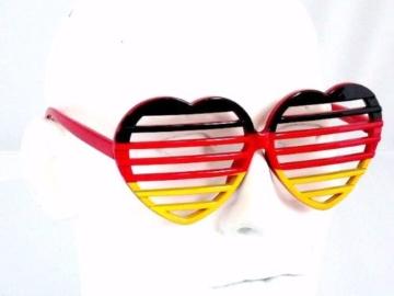 Ultra coole Deutschland Brille Sonnenbrille Fanbrille - 4