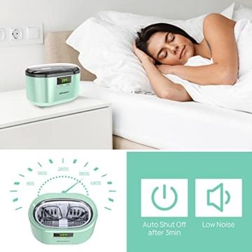 Ultraschallreiniger Ultraschallreinigungsgerät Ultraschallgerät 600ML 50W 48 kHz Digital Ultrasonic Cleaner Reiniger mit 5 Zeitmodi für Haushalt Brillen Schmuck Uhren Zahnprothese- JHUC01 - 3