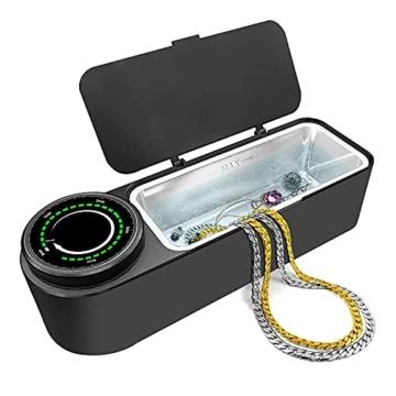Ultraschallreinigungsgerät Brille 48KHz, 650ml Professioneller Ultraschallreiniger Brille zur Schmuckreinigung mit Timer, Soft Touch, Geräuscharm, Sauberer Schmuck, Diamanten, Uhren - 1