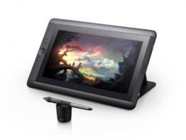 Wacom Cintiq 13HD Interactive Pen Display (33,8 cm (13,3 Zoll) TFT LCD-Display, Full HD, HDMI, USB), Sprachversion DE/EN/SE - 1