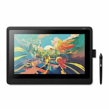 Wacom Cintiq 16 Kreativ-Stift-Display Tablet - (zum Skizzieren, Illustrieren und Zeichnen direkt auf dem Bildschirm, mit Full-HD-Display (1.920 x 1.080), kompatibel mit Windows und Mac) - 1