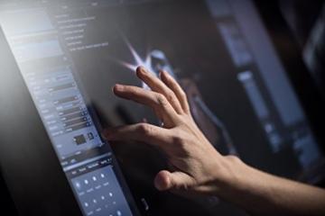 Wacom Cintiq 27QHD touch Kreativ-Stift und Touch-Display schwarz - 8