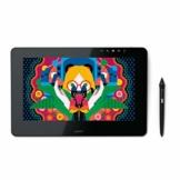 Wacom Cintiq Pro 13 Full HD-Stift-Display für professionelle Künstler & Designer, mit Touchscreen, integriertem Standfuß, Wacom Pro Pen 2 und Wacom Link Plus Adapter, kompatibel mit Windows und Mac - 1
