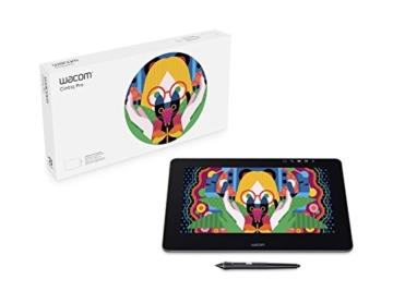 Wacom Cintiq Pro 13 Zoll Grafiktablett mit Display und Standfüßen inkl. Wacom Pro Pen 2 Eingabestift mit Stifthalter und verschiedenen Spitzen, Kompatibel mit Windows und Apple - 2