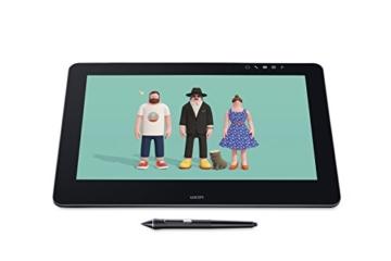 Wacom Cintiq Pro 13 Zoll Grafiktablett mit Display und Standfüßen inkl. Wacom Pro Pen 2 Eingabestift mit Stifthalter und verschiedenen Spitzen, Kompatibel mit Windows und Apple - 20