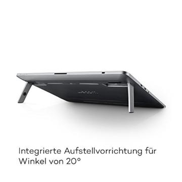 Wacom Cintiq Pro 13 Zoll Grafiktablett mit Display und Standfüßen inkl. Wacom Pro Pen 2 Eingabestift mit Stifthalter und verschiedenen Spitzen, Kompatibel mit Windows und Apple - 3