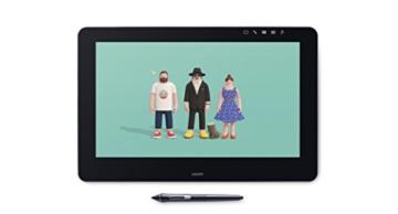 Wacom Cintiq Pro 13 Zoll Grafiktablett mit Display und Standfüßen inkl. Wacom Pro Pen 2 Eingabestift mit Stifthalter und verschiedenen Spitzen, Kompatibel mit Windows und Apple - 21
