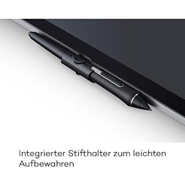 Wacom Cintiq Pro 13 Zoll Grafiktablett mit Display und Standfüßen inkl. Wacom Pro Pen 2 Eingabestift mit Stifthalter und verschiedenen Spitzen, Kompatibel mit Windows und Apple - 4