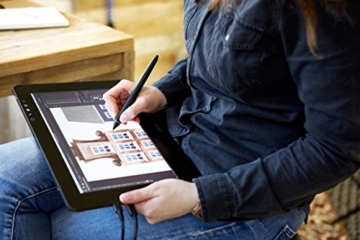 Wacom Cintiq Pro 13 Zoll Grafiktablett mit Display und Standfüßen inkl. Wacom Pro Pen 2 Eingabestift mit Stifthalter und verschiedenen Spitzen, Kompatibel mit Windows und Apple - 7