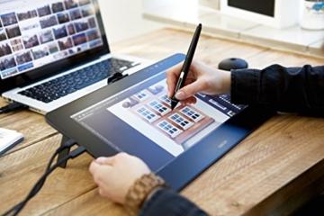 Wacom Cintiq Pro 13 Zoll Grafiktablett mit Display und Standfüßen inkl. Wacom Pro Pen 2 Eingabestift mit Stifthalter und verschiedenen Spitzen, Kompatibel mit Windows und Apple - 8