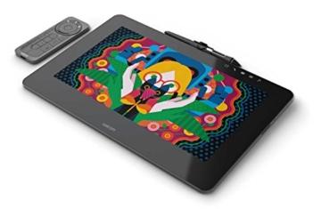 Wacom Cintiq Pro 13 Zoll Grafiktablett mit Display und Standfüßen inkl. Wacom Pro Pen 2 Eingabestift mit Stifthalter und verschiedenen Spitzen, Kompatibel mit Windows und Apple - 10