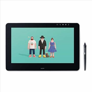 Wacom Cintiq Pro 16 Stift-Display mit 4K, integriertem Standfuß. Pro Pen 2, Link Plus Adapter (für professionelle Künstler und Designer, mit Touchscreen, kompatibel mit Windows und Mac.) - 1