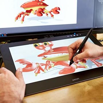 Wacom Cintiq Pro 16 Stift-Display mit 4K, integriertem Standfuß. Pro Pen 2, Link Plus Adapter (für professionelle Künstler und Designer, mit Touchscreen, kompatibel mit Windows und Mac.) - 6