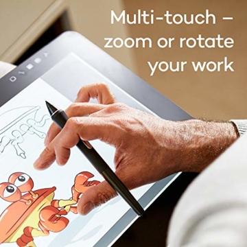 Wacom Cintiq Pro 16 Stift-Display mit 4K, integriertem Standfuß. Pro Pen 2, Link Plus Adapter (für professionelle Künstler und Designer, mit Touchscreen, kompatibel mit Windows und Mac.) - 7