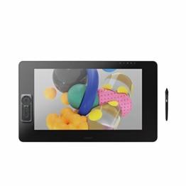 Wacom Cintiq Pro 24 touch – 24 Zoll Grafik-Touch-Display mit 4K Auflösung und integriertem Standfuß – Inklusive Pro Pen 2 Stift mit verschiedenen Ersatzspitzen - 1