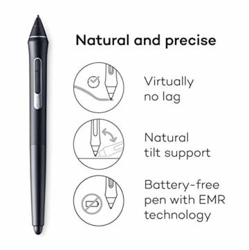 Wacom Cintiq Pro 32 Multi-Touch-Display mit 4K / 32-Zoll-Kreativ-Stift-Display mit integriertem Standfuß inkl. Wacom Pro Pen 2 Stylus mit Stifthalter und Ersatzspitzen, kompatibel mit Windows und Mac - 2