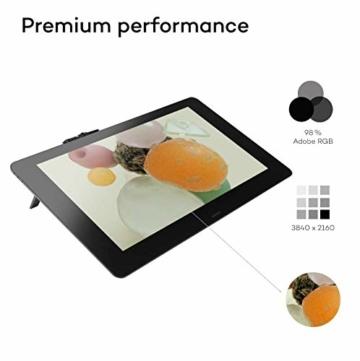 Wacom Cintiq Pro 32 Multi-Touch-Display mit 4K / 32-Zoll-Kreativ-Stift-Display mit integriertem Standfuß inkl. Wacom Pro Pen 2 Stylus mit Stifthalter und Ersatzspitzen, kompatibel mit Windows und Mac - 5