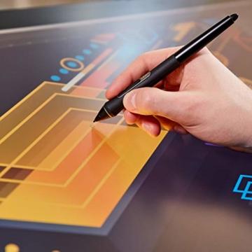 Wacom Cintiq Pro 32 Multi-Touch-Display mit 4K / 32-Zoll-Kreativ-Stift-Display mit integriertem Standfuß inkl. Wacom Pro Pen 2 Stylus mit Stifthalter und Ersatzspitzen, kompatibel mit Windows und Mac - 6