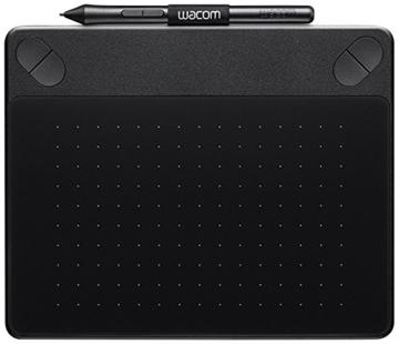 Wacom CTH-490CK-S Intuos Comic Stift-Tablett (Touch S inklusive Softwaredownload von Clip Studio Paint PRO und Anime Studio) schwarz - 1