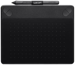 Wacom Intuos Art Small Black Grafik-Tablett für digitales Malen / Stift-Tablett mit druckempfindlichem Stift und Multitouch-Oberfläche für natürliches Schreibgefühl / Kompatibel mit Mac & Windows - 1
