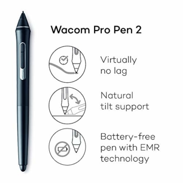 Wacom Intuos Pro Grafiktablett (Größe: S) / Kleines, professionelles Stifttablett inkl. Wacom Pro Pen 2 Eingabestift mit Ersatzspitzen (preisgekröntes Design, kompatibel mit Windows und Apple) - 5