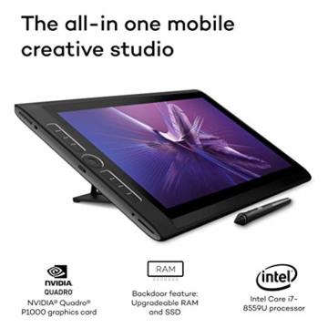 Wacom MobileStudio Pro 16 Stift-Computer mit Wacom Pro Pen 2 (Intel Core i7-8559U-Prozessor, Thunderbolt-Verbindung und lebensechter Auflösung von 4K – unser bisher leistungsstärkstes Gerät) - 3