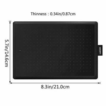 Wacom One CTL-472-N Creative Pen Tablet zum Zeichnen Schwarz, Größe S - 4