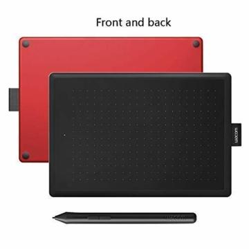 Wacom One CTL-472-N Creative Pen Tablet zum Zeichnen Schwarz, Größe S - 5